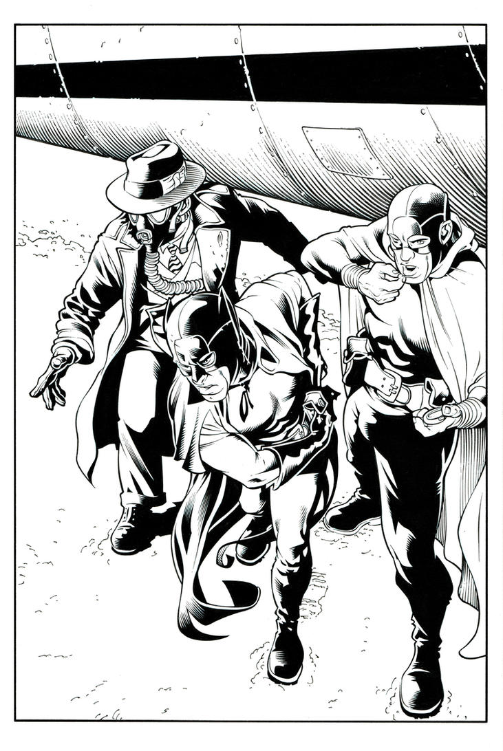 JSA: THE UNHOLY THREE vol.2 page 38 LIBERTY FILE by Ray-Snyder