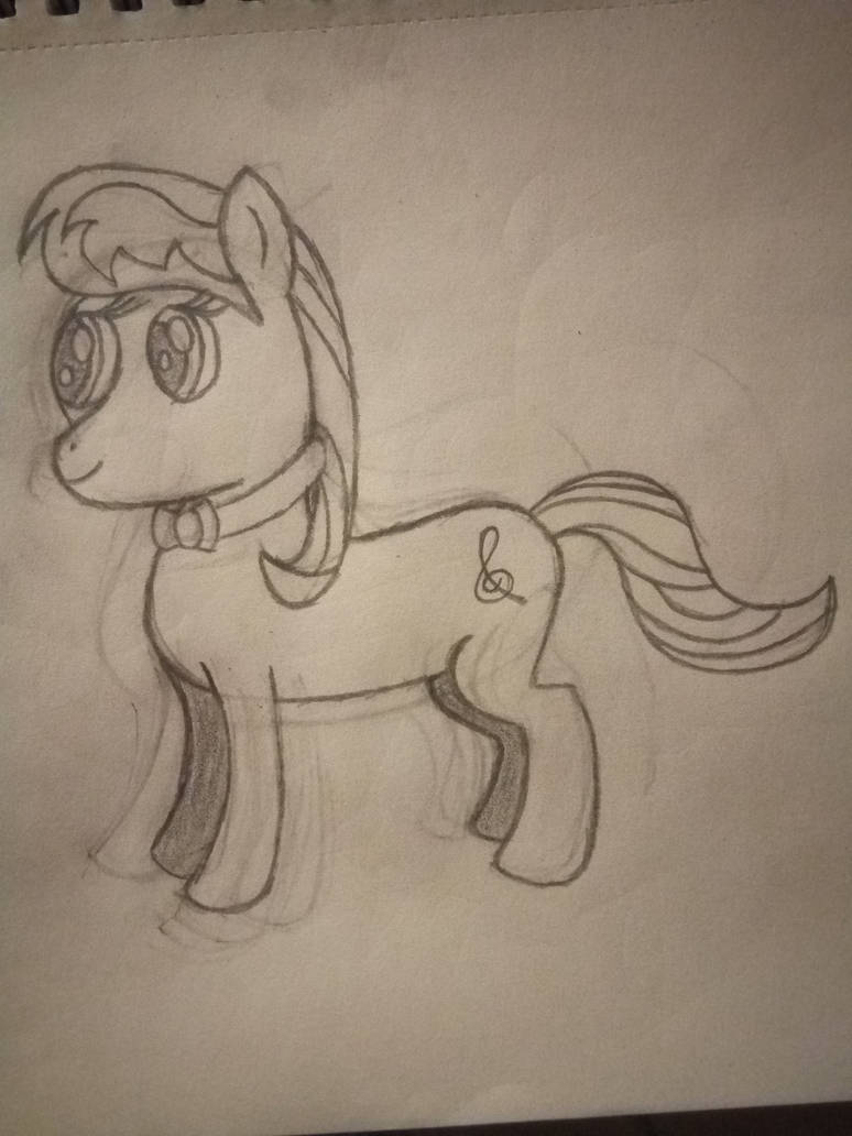 MLP Octavia Drawing by EeveeProtect