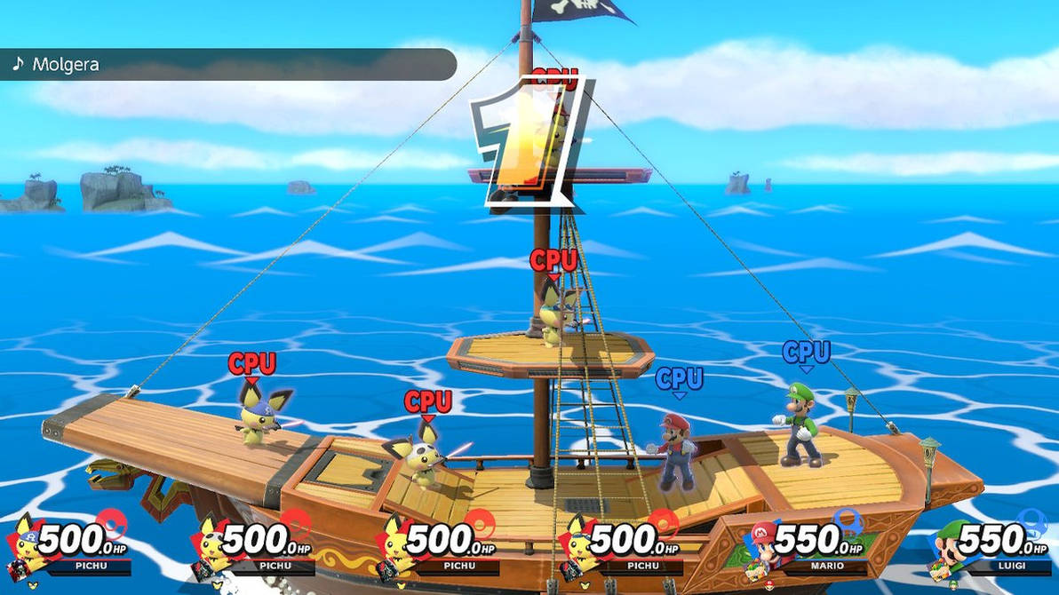 Pichu Pirates Spirit Event I thought of by EeveeProtect