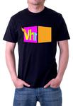 VH1 TV Black T-shirt