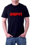 ESPN TV Black T-shirt