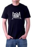 FOX TV NETWORK Black T-shirt
