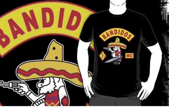 BANDIDOS MC MOTORCYCLE CLUB Black T-shirt by customtshirt on DeviantArt