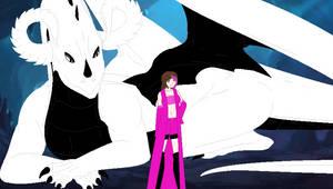 Prince Senji and Rose by SapphireRKnight