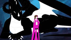 Prince Ryuu and Rose by SapphireRKnight