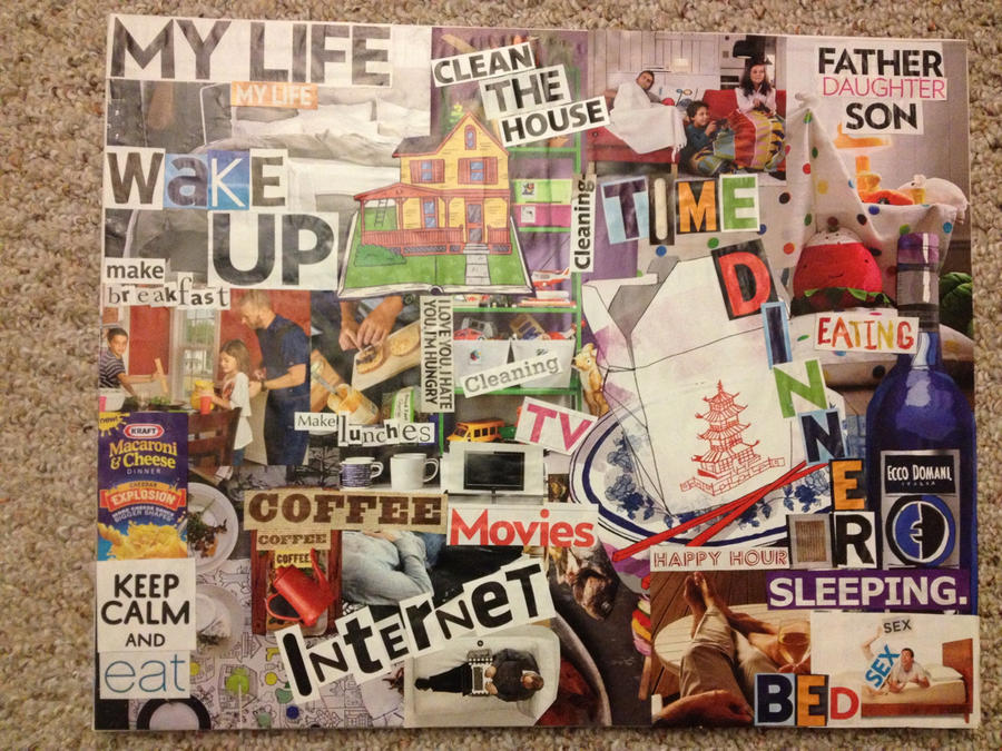 Daily life collage by williamo86 on deviantart for Daily photo ideas