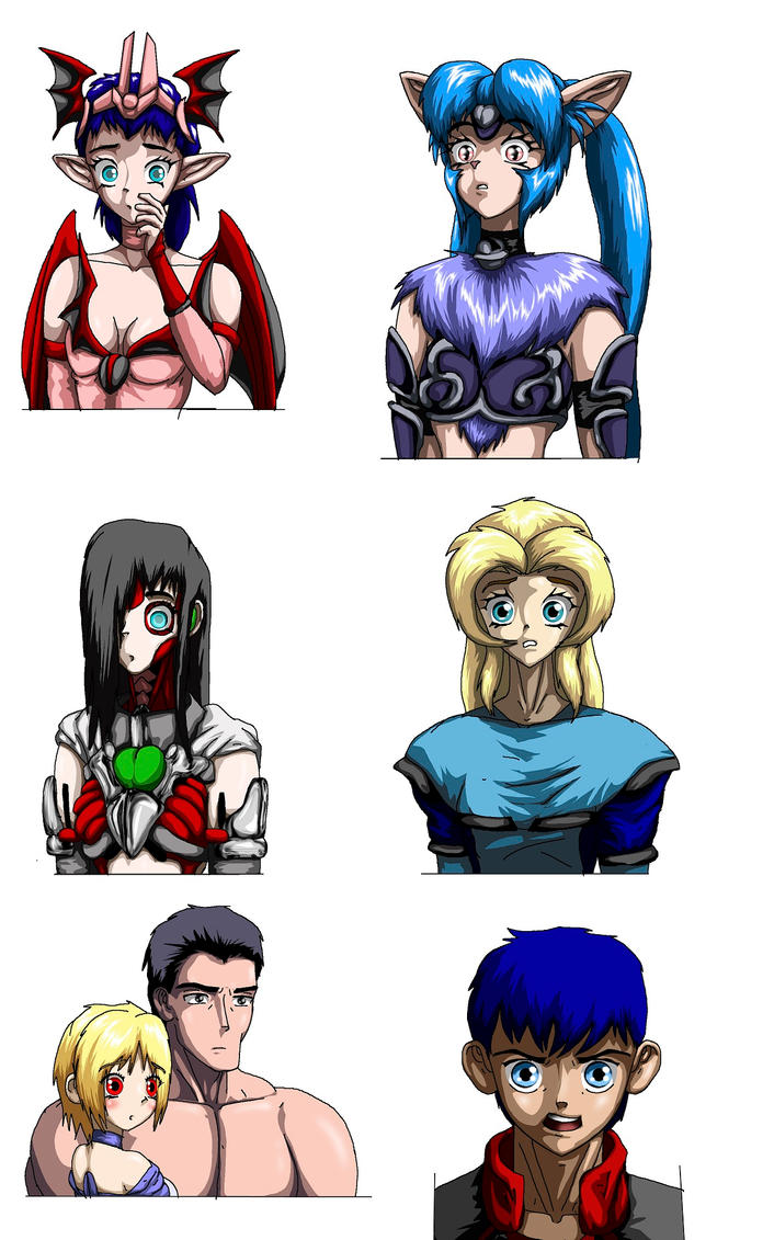 Colors Faces by Ryonosuke00