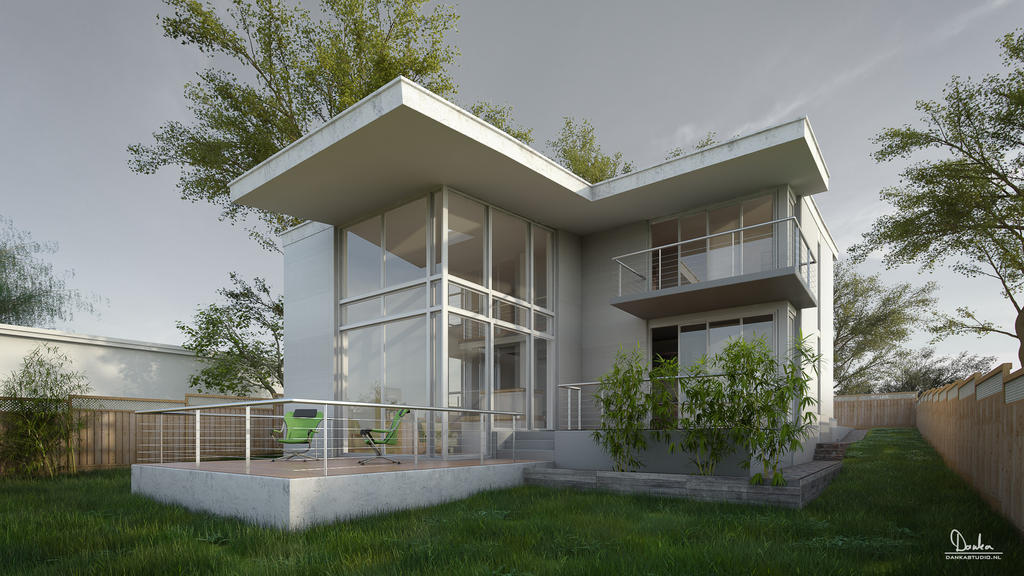 Modern House In 2012 Q4 By Balazsdanka On DeviantArt