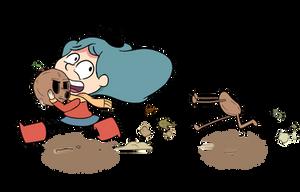 Brainstorm of Hilda: Got your head! by xiaodynasty