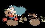 Brainstorm of Hilda: Got your head!
