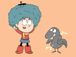 Brainstorm of Hilda: After a thunder bird ride by xiaodynasty
