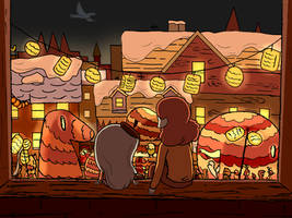 Hilda: the bird parade by xiaodynasty