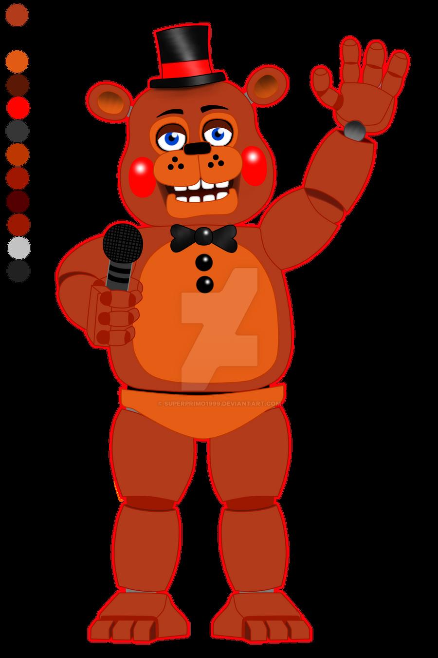 Old Toy Freddy : Toy freddy fnaf by superprimo on deviantart