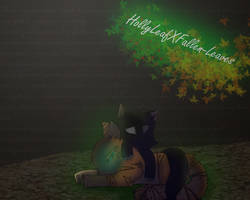HollyLeafXFallen-Leaves by MightystarEL