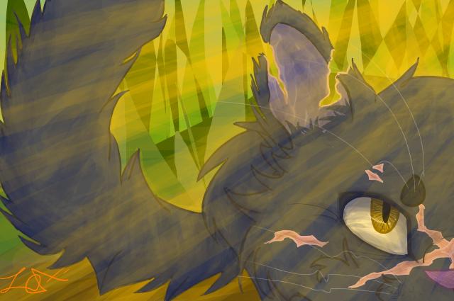 yellowfang by MightystarEL