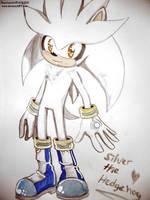 2: Silver the hedgehog by SashaStub