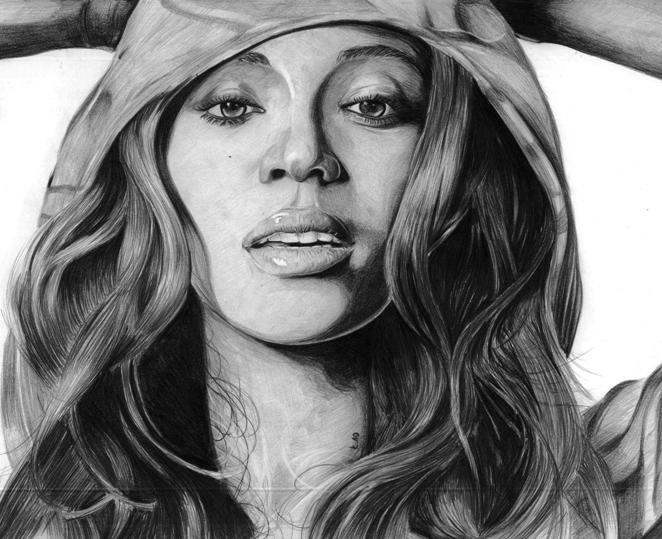 Beyonce by pencilordie