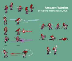 Amazon Warrior - Character sheet