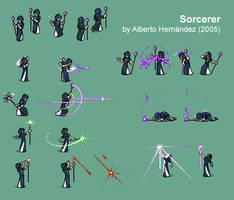 Sorcerer - Character sheet