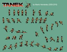 Tanek - Character sheet