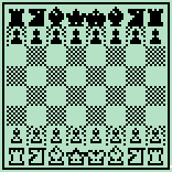 Chess set - BW 9x9-squares 2X by Alberto-H