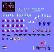 Cris - odd prelude Sprite sheet
