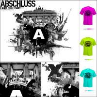 Abschlussfahrt T-shirt Berlin by GarfieldPP