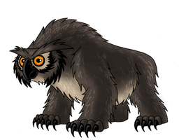 Owlbear by McSlackerton