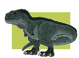 Southron Theropod by McSlackerton