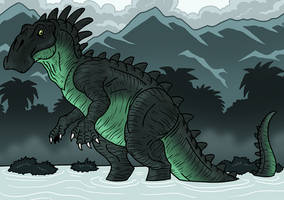 Swamp Giant by McSlackerton