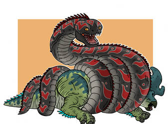 Mother of all Snakes by McSlackerton