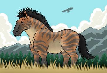 Wild Horse by McSlackerton