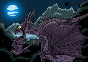 Night Wyverns by McSlackerton