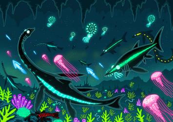 The Hidden Sea by McSlackerton