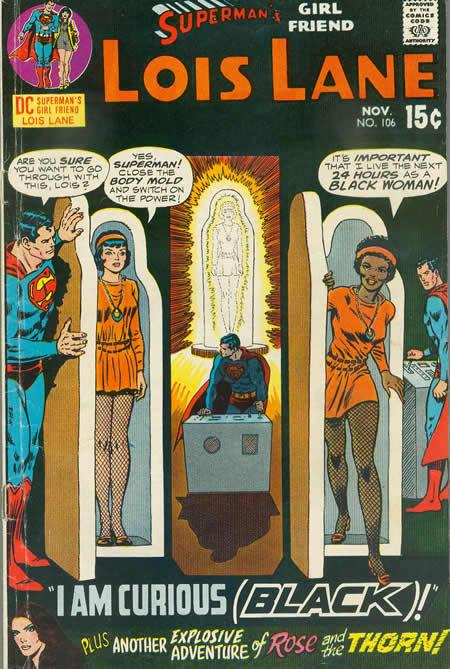 I Am Curious Black-Lois Lane by BrianThomasX