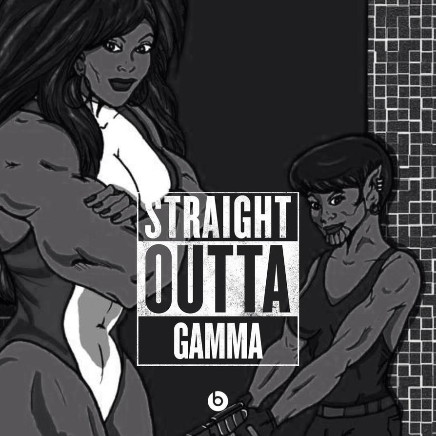 Straight Outta Gamma by BrianThomasX