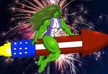 She Hulk July4th