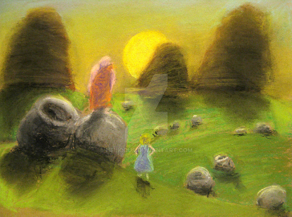 Alice in the Plain of Jars by Heliodus