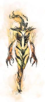 Skyrim: Flame Atronach