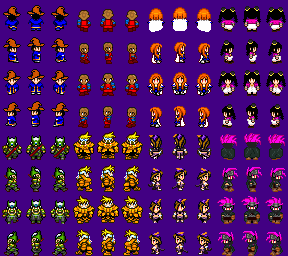 Rpg Maker Sprite Sheet Guide