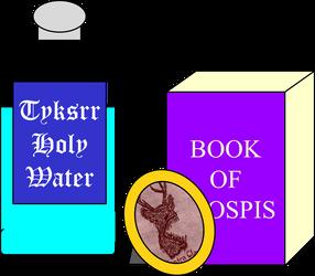 Tykssrian Christening Kit