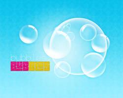 Bubbles wallpaper 1280x1024 by diamondlightart