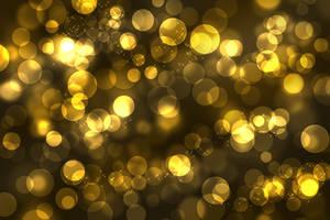 Hollywood Golden bokeh by diamondlightart