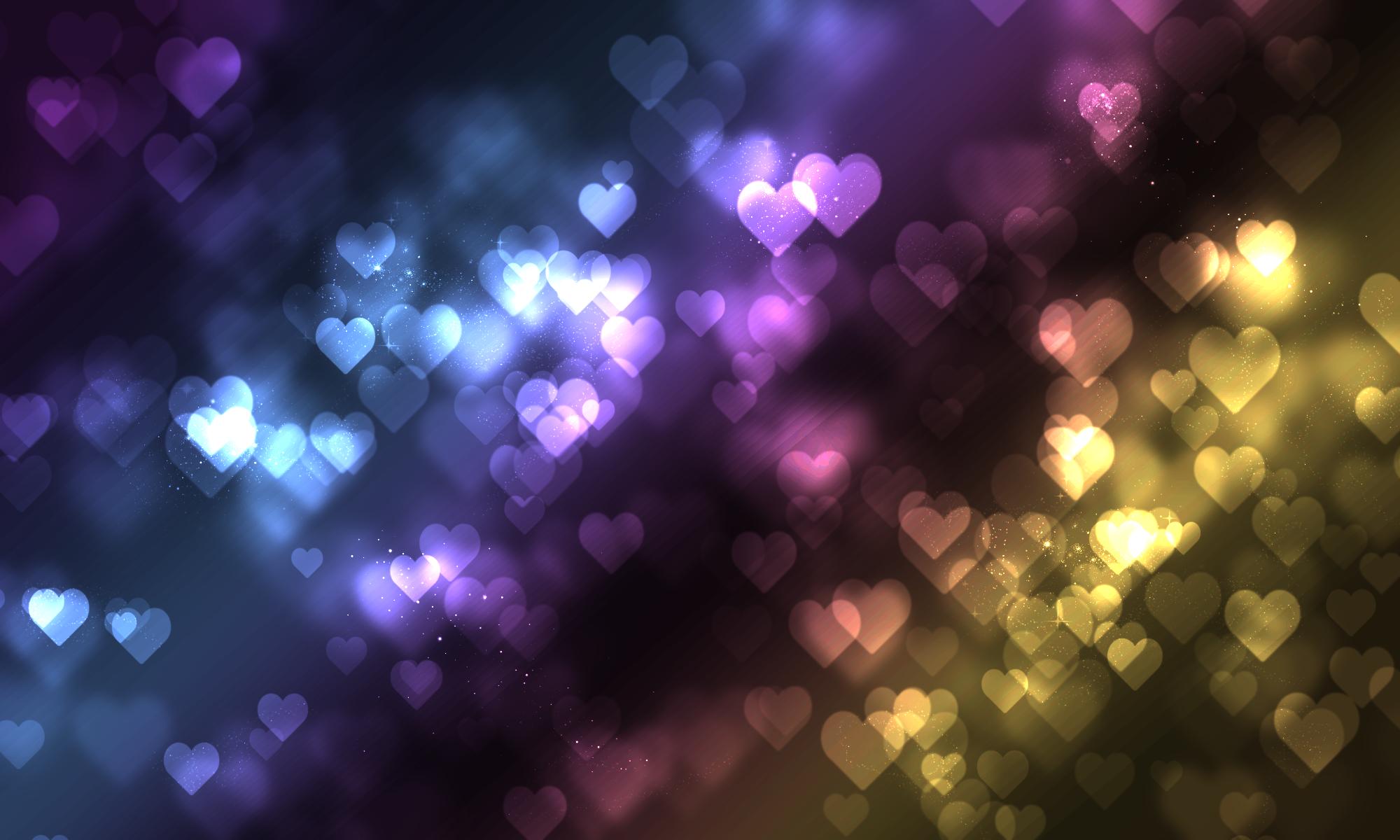 Traeh (=heart) bokeh by diamondlightart
