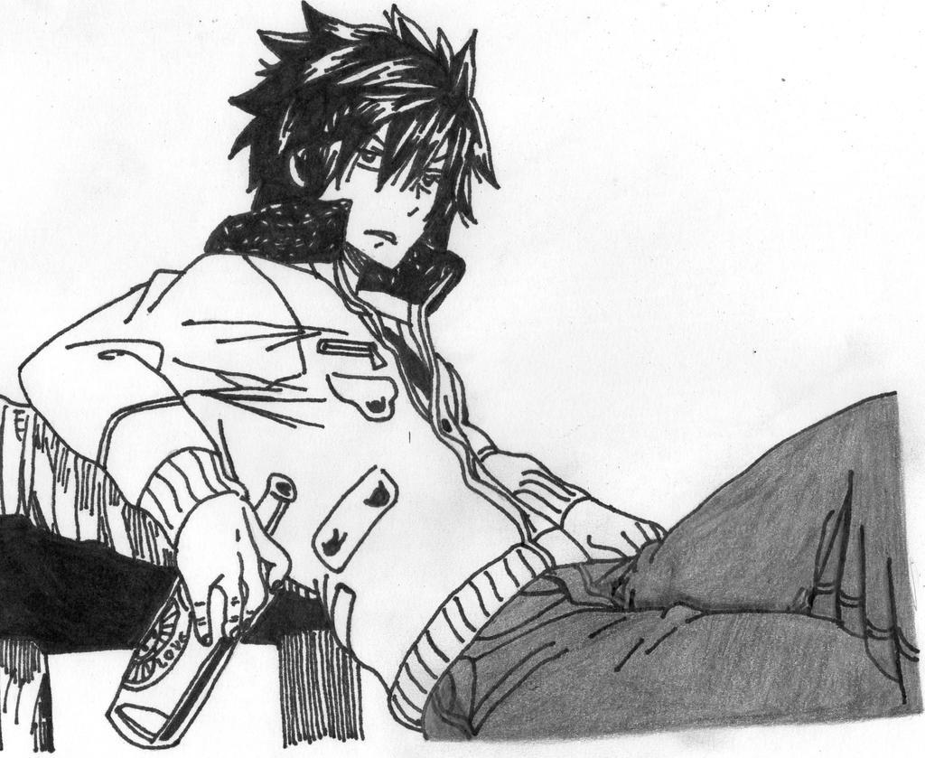 Gray Fullbuster Manga Boxer Gray Fullbuster by uli...