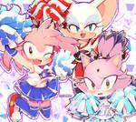 Sega Sonic Girls