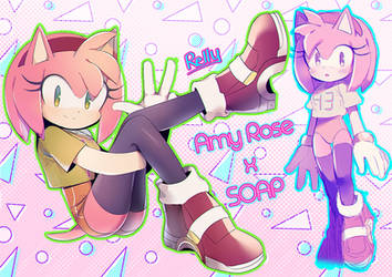 Amy x SOAP by rellyia