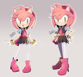 Sonic X outfit Amy