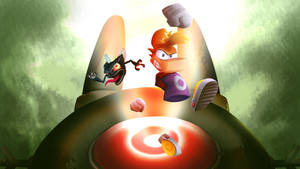Andre and Rayman to the rescue