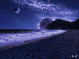 blue moons by megcat